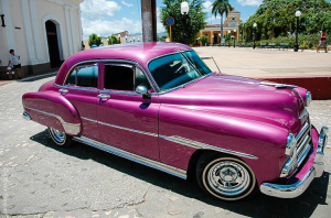 No post on Cuba is complete without the fancy old-fashioned cars… and there are plenty!