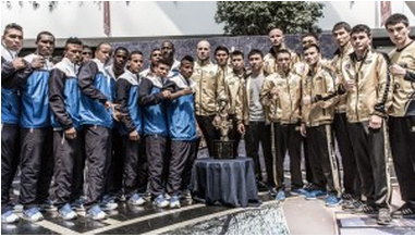 Cuba Domadores meet Astana Arlans Kazakhstan in the World Series of Boxing Season V Finals this weekend