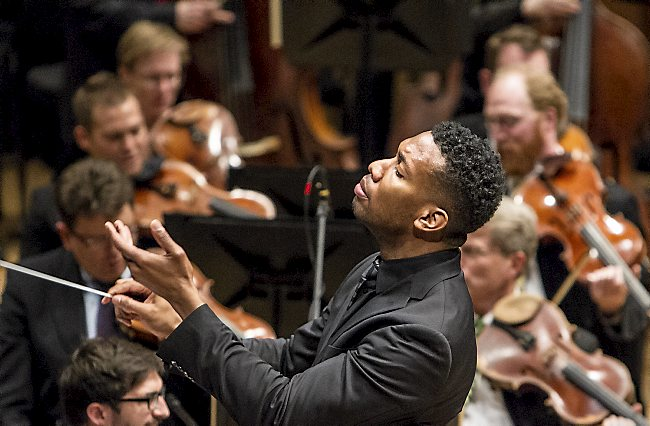 Roderick Cox, the Minnesota Orchestra's new assistant conductor. (Courtesy photo)
