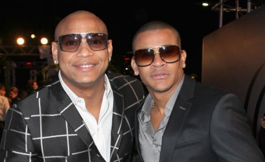 Gente de Zona attends the 2015 Premios Lo Nuestros Awards at American Airlines Arena on February 19, 2015 in Miami, Florida. John Parra/Getty Images For Univision